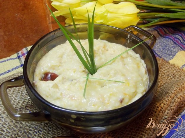 фото рецепта: Фасолевый суп -пюре с копчеными колбасками