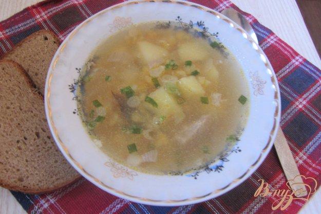 Рецепт Ароматный гороховый суп