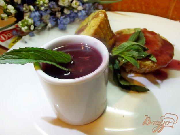 Рецепт Мятно-вишневый соус для маффинов