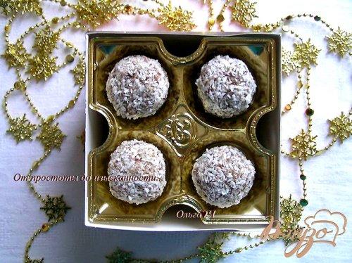 Конфеты из фиников с лесными орехами