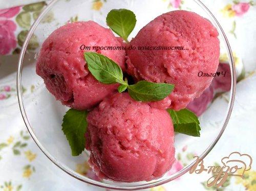 Малиновое мороженое (постное)
