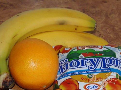Бананово-апельсиновый смузи