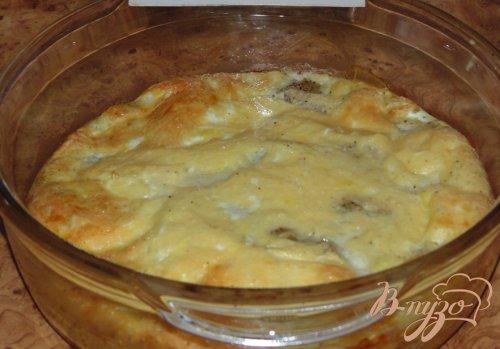 Минтай в сырном суфле