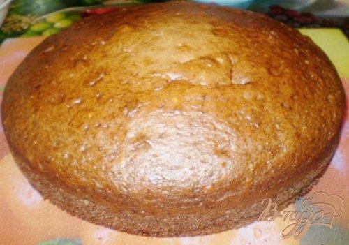 Пирог со сметанно-ванильной пропиткой