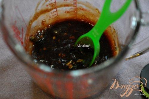 Говядина с соевой глазурью