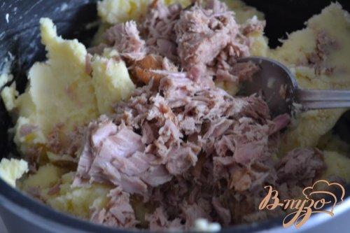 Картофельные биточки с тунцом