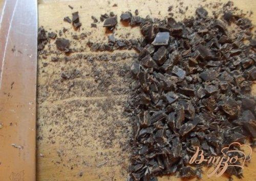 Ореховые конфеты из горького шоколада