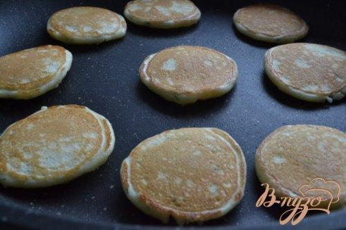 Сырные мини-оладушки с укропом
