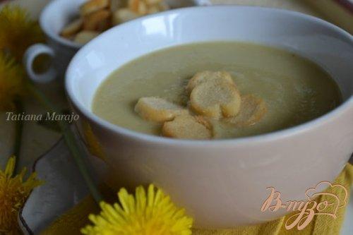 Суп-пюре из желтой фасоли с чечевицей