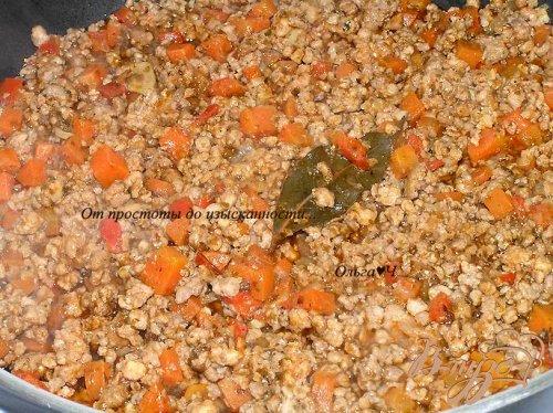 Мясное рагу в томатном соусе