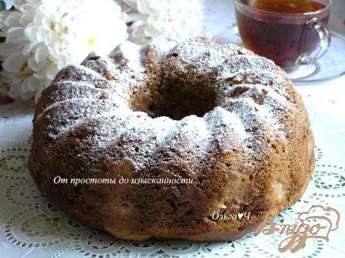 Мега яблочный пирог