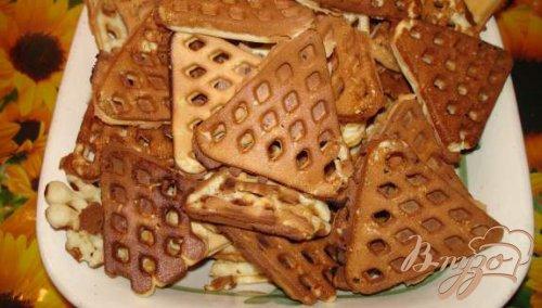 Хрустящие вафли на советской вафельнице