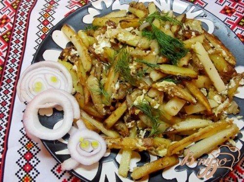 Одесский жареный картофель