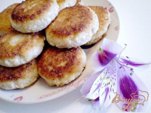 Сырники с грецкими орехами и апельсиновой цедрой