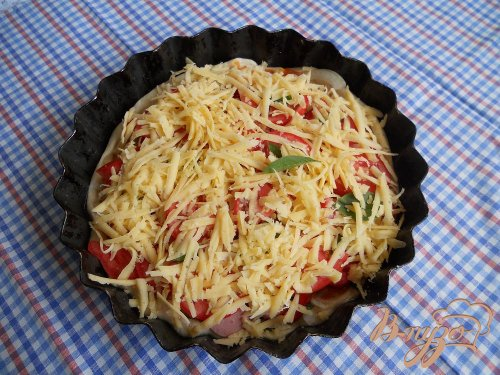 Пицца простецкая