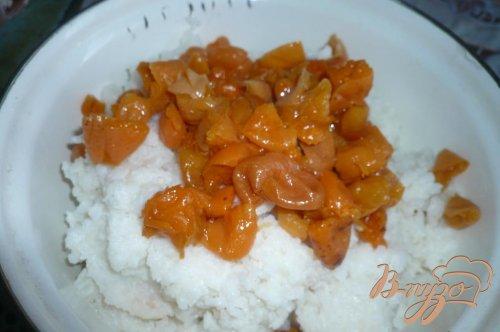 Рисовая запеканка с курагой