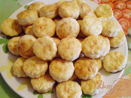 Сырное соленое печенье (вариант 2)