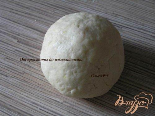 Сметанное печенье с цедрой лимона