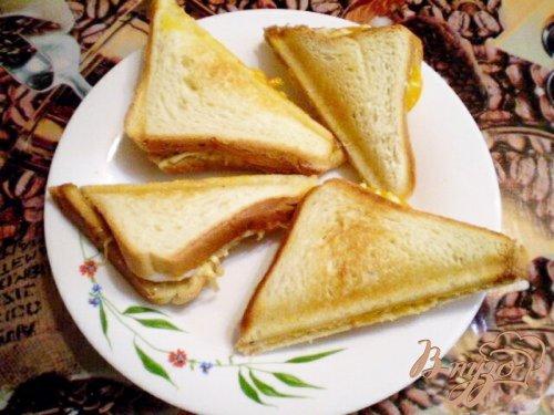 Сэндвич с мясным паштетом