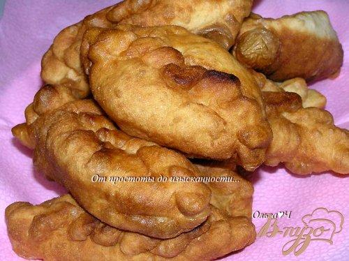 Пирожки с яблочно-малиновой начинкой