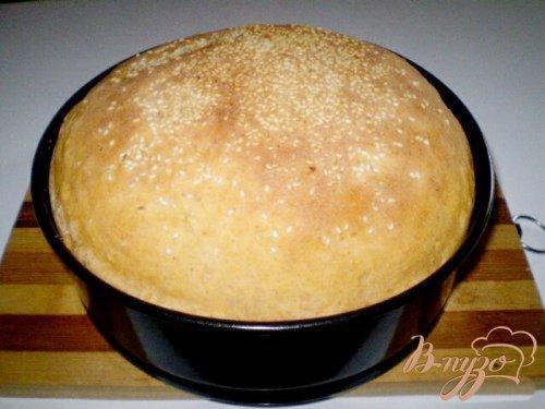 Томатный хлеб с отрубями, семечками подсолнечника и кунжутом