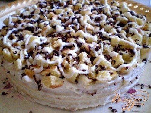 Быстрый тортик на сковороде
