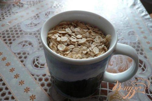 Овсяный коржик к чаю