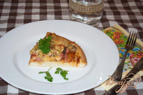 Пицца на заготовке