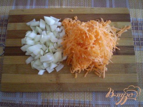 Рис со шкварками и черемшой