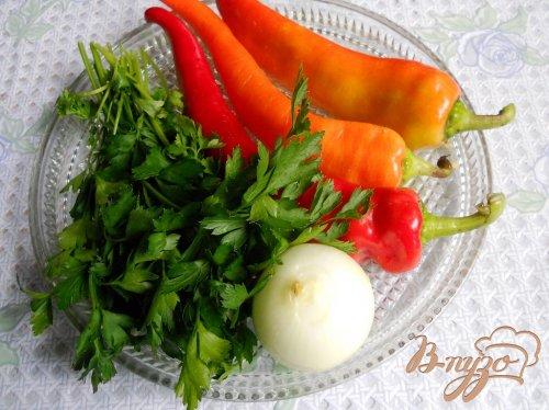 Котлеты с болгарским перцем