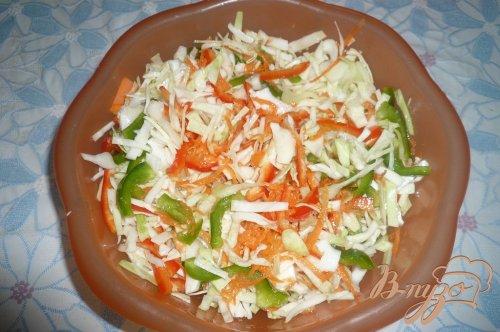 Маринованный капустный салат