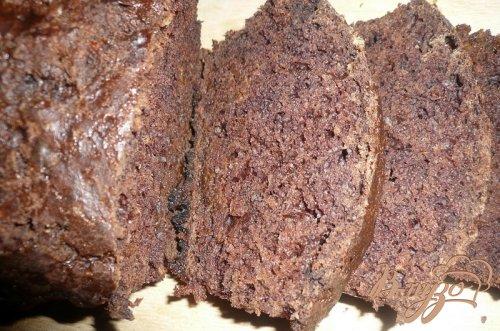 Шоколадный кекс с тыквой