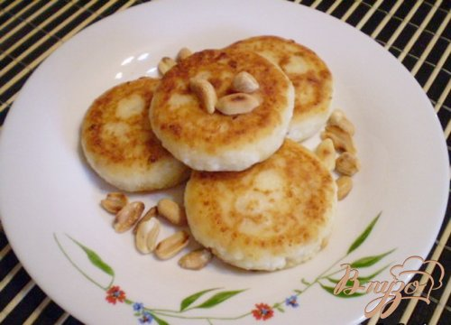 Сырники с арахисом