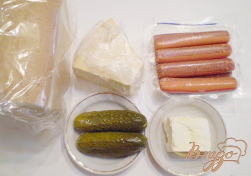 Сэндвичи с соленым огурцом