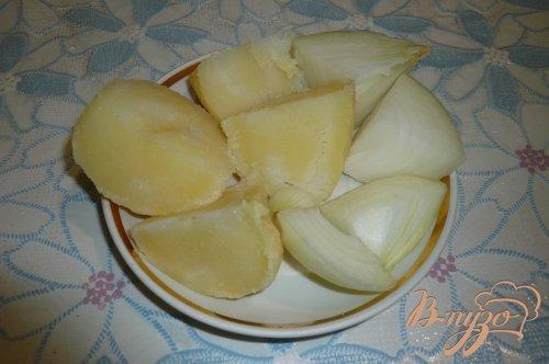 Запеканка из печени и картофеля