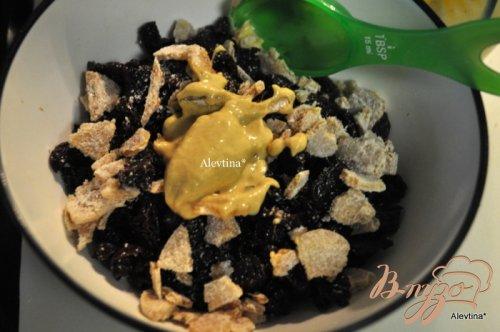 Кекс имбирный со вкусом вишни и клюквы