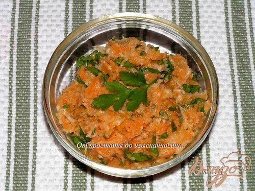 Салат из дайкона и моркови
