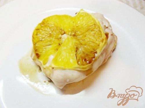 Куриная грудка запеченая с апельсином