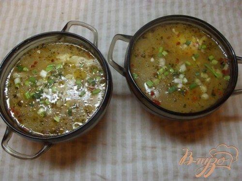 Суп с куриными яйцами