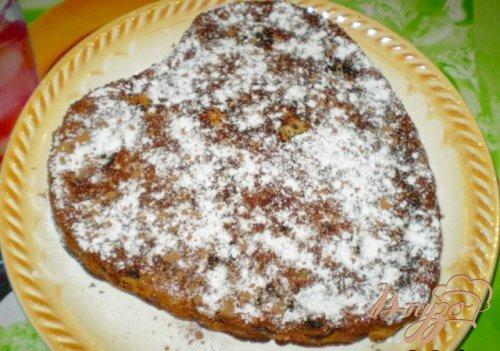 Яблочный пирог на сливках