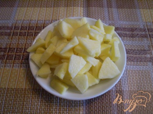 Яблочно-творожная запеканка