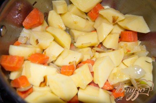 Суп-пюре с брокколи, брюссельской капустой и фрикадельками