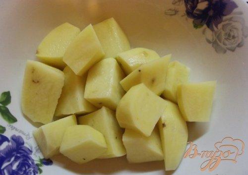 Индюшиные сердечки запеченные с картофелем