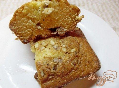 Плотный яичный кекс с сухофруктами