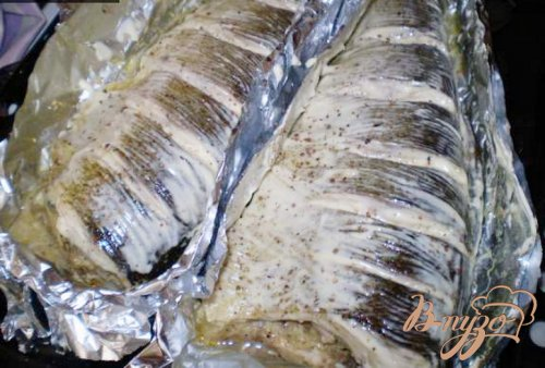 Маринованная рыба запеченная в фольге