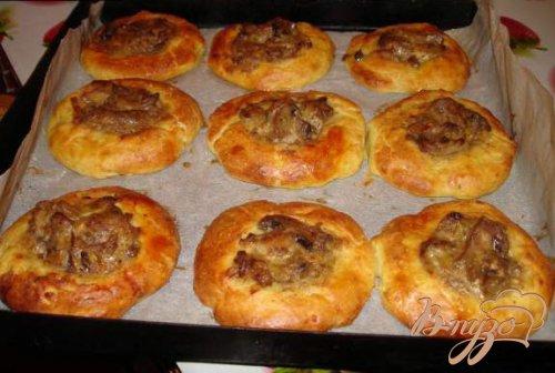 Картофельные буритос с грибами