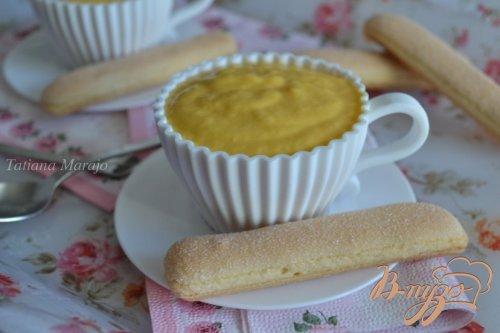 Десертный крем из манго с маскарпоне