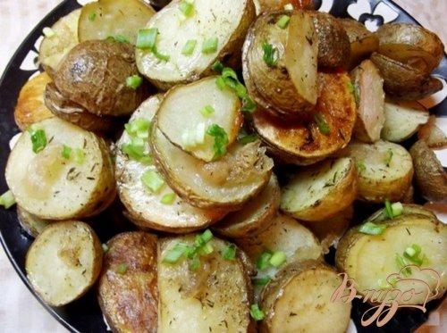 Картофель запеченный в кожуре