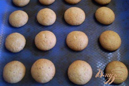 Печенье с ореховой крошкой