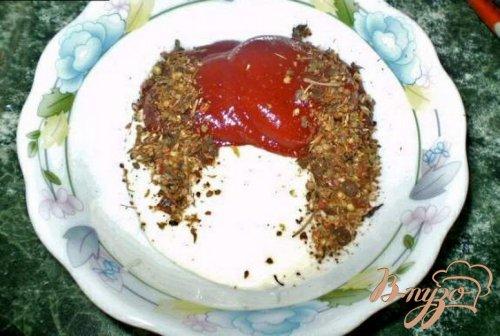 Шашлык куриный на кетчупе
